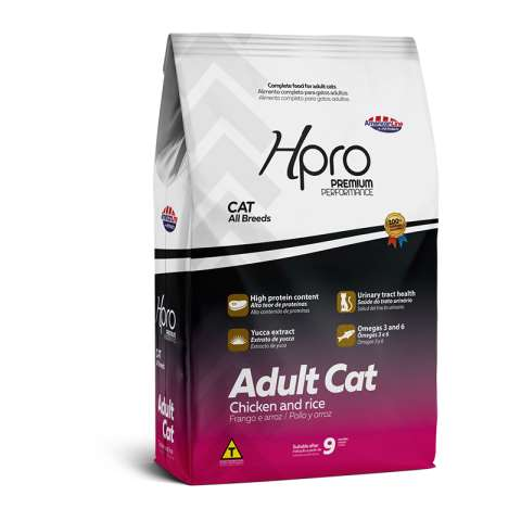 Hpro Adult Cat Chicken and Rice