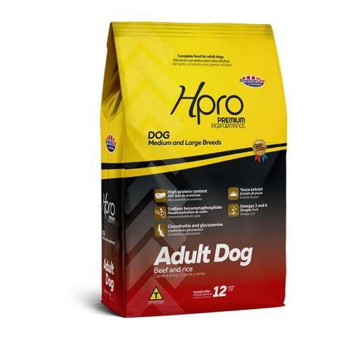 Hpro Adult Dog Beef and Rice Medium and Large Breeds - AmericanLine