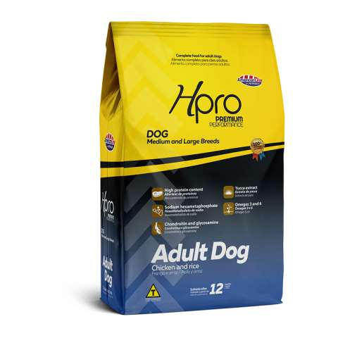 Hpro Adult Dog Chicken and Rice Medium and Large Breeds - AmericanLine